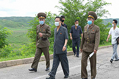 N. Korea's No. 2 leader visits Gaeseong after lockdown amid COVID-19 fears