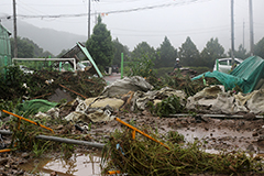6 dead, 8 missing due to torrential downpours in S. Korea