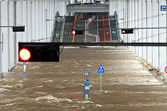 Jamsu Bridge in Seoul closed, other roads closed amid heavy rain