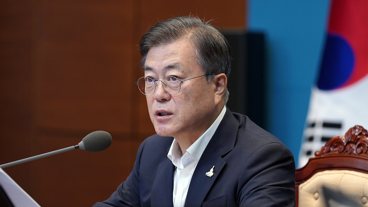 Moon emphasizes maintaining safety amid torrential rain