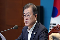 President Moon emphasizes maintaining safety amid torrential rain