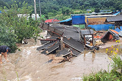 Damage from heavy rain worsens in S. Korea; 15 dead and 11 missing as of Tuesday