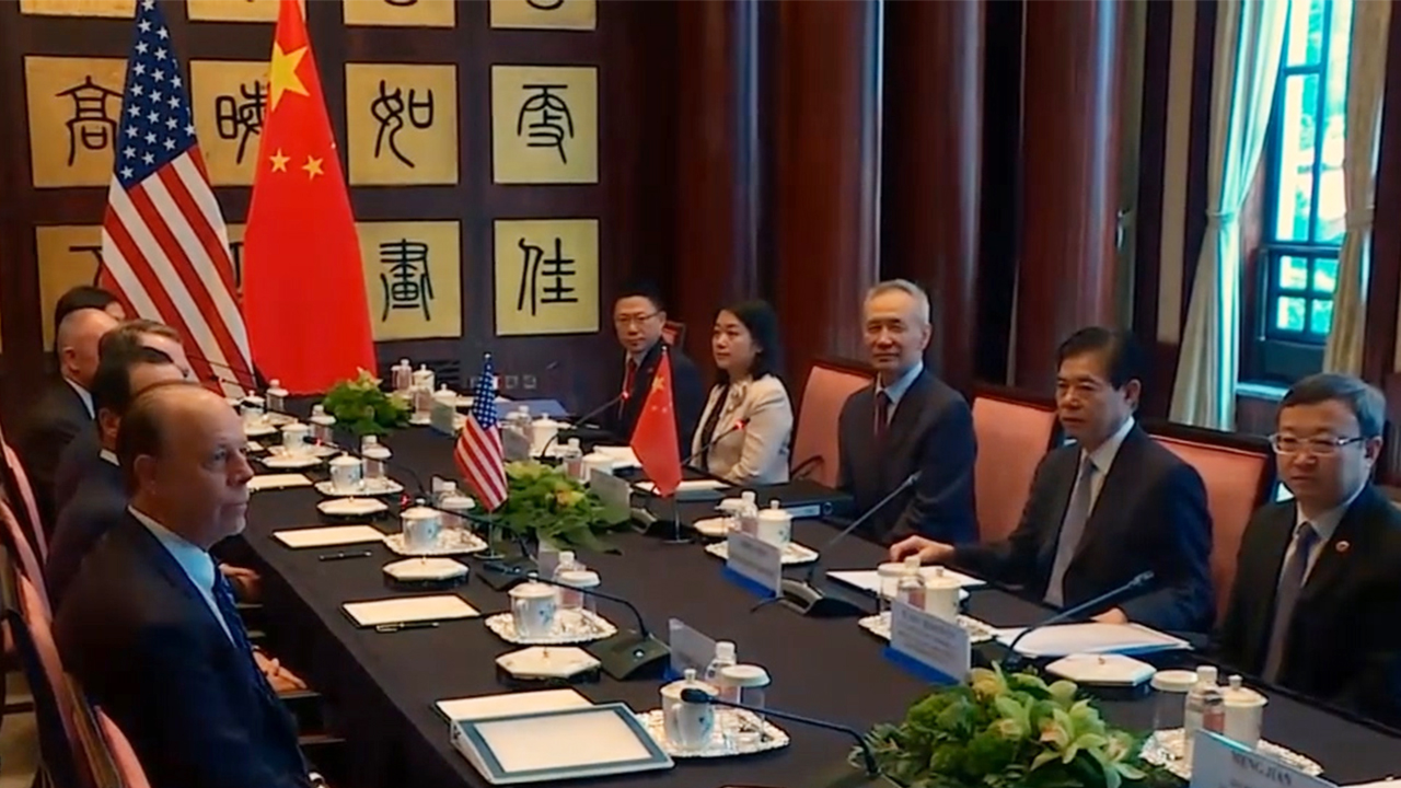 U.S., China agree on high-level trade talks on August 15