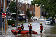 U.S., China hit hard by torrential rain and deadly floods