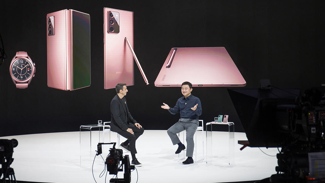 Samsung Electronics unveils 5 brand new devices in Galaxy Unpacked 2020
