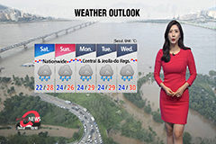 Downpours in south through Sat