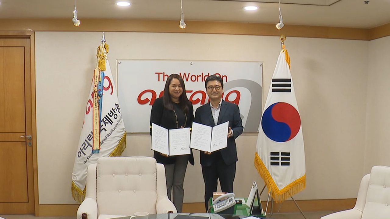 Arirang TV to share Korean animation content on Nicaragua's SNTV