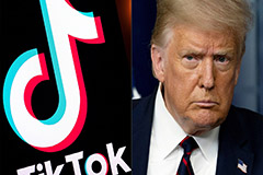Trump issues executive order to ban U.S. transactions with TikTok's parent company