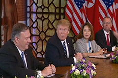 Trump says he will quickly make deals with N.Korea and Iran if reelected