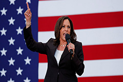 Biden picks Kamala Harris as r