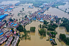 Over 63 mil. people affected by summer floods in China