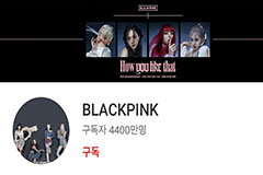 Blackpink becomes world's no. 4 artist by YouTube subscribers