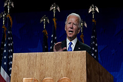 Joe Biden accepts Democratic Party nomination for president