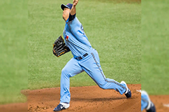 Kim Kwang-hyun pitches six scoreless innings in first MLB win