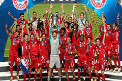 Bayern Munich crowned European champions, beats PSG 1-0 in Champions League final