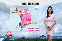 Heat alerts in most parts, typhoon Bavi to hit Korea