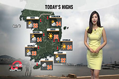 Stay alert on typhoon Bavi, Jeju to get direct effect from tonight