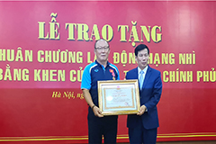 S. Korean Vietnam football coach Park Hang-seo honored for int'l success