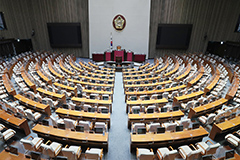 S. Korea's National Assembly reopens after closure due to COVID-19
