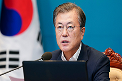 President Moon to chair first strategy meeting on New Deal