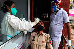 India reports over 80,000 daily cases of COVID-19 infections on Thursday