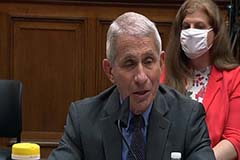 """""""Conceivable"""" but not likely to have COVID-19 vaccine by October: Fauci"""