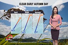 Finally some fine autumn weather nationwide