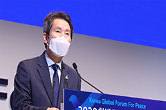 Seoul's unification minister calls for inter-Korean cooperation through small steps