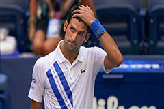Novak Djokovic disqualified fr