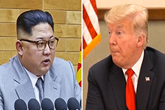 Trump shares U.S. almost went to war with N. Korea in 2017 in Woodward's new book