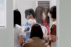 S. Korea sees local infections rise back above 100