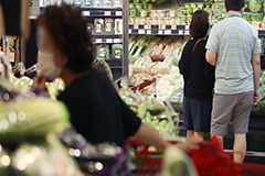 S. Korea's food price inflation in August third highest among 22 OECD members