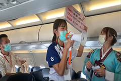 120 passengers fly from Taipei