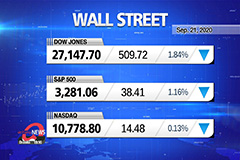 Market Wrap Up : Stocks sink M
