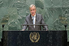 UN Chief says third world war has been avoided due to international cooperation