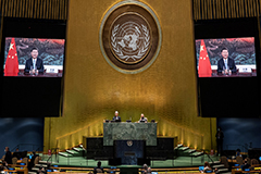 Tensions between U.S., China heighten during UN General Assembly over COVID-19, trade