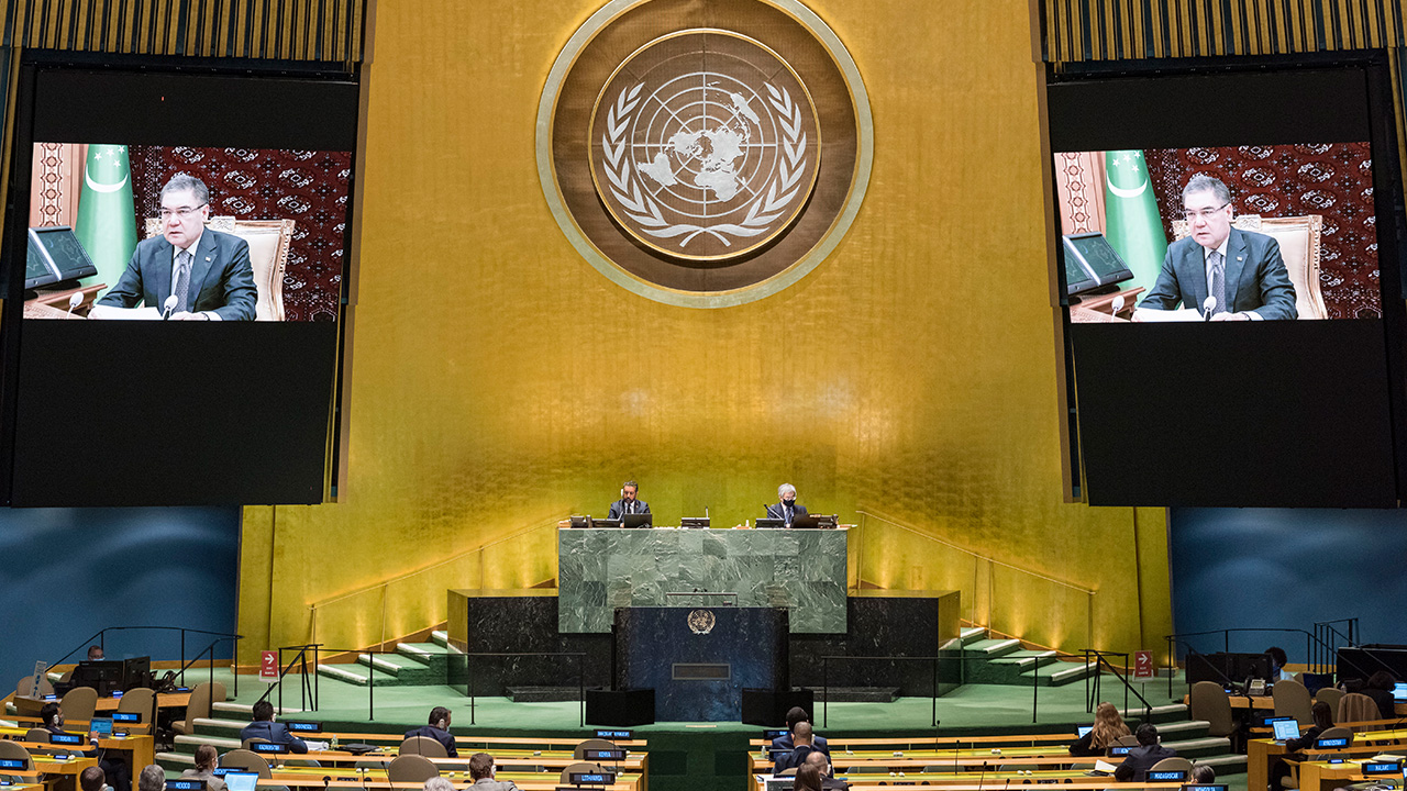 World leaders give speeches virtually at 75th UN General Assembly due to COVID-19