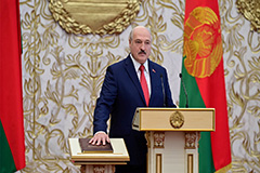 Alexander Lukashenko sworn in