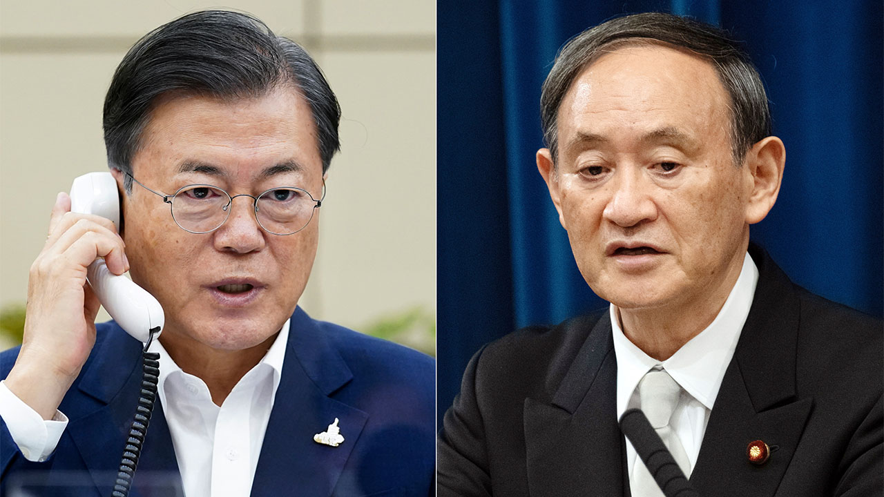 S. Korea, Japan leaders aim to accelerate efforts to discuss pending issues