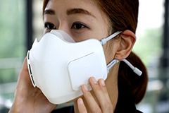 LG Electronics develops battery-run air purifier face mask