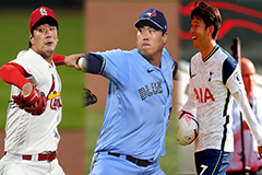 Three S. Korean stars in MLB p