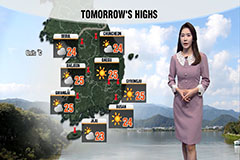 Clear autumn skies...rain in central regions on Wednesday