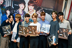 K-pop sensations BTS back to t