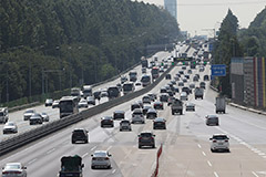 Chuseok traffic lighter than expected at Seoul Tollgate