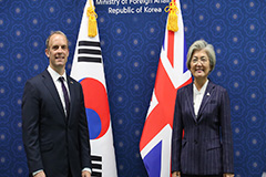 UK's top diplomat holds talks with S. Korean counterpart, visits DMZ
