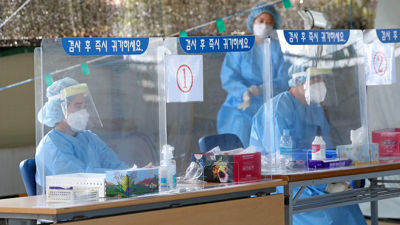 S. Korea reports 77 new COVID-19 cases as numbers return to double digits on Chuseok