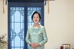 First Lady Kim calls for closer S. Korea-India ties on Ghandi anniversary