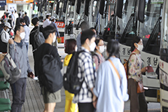 S. Korea makes face masks compulsory in public places starting Oct. 13th