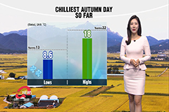 Chilliest start of season in many parts with winds