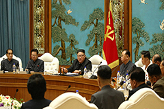 Kim Jong-un presides over politburo meeting, vowing to prepare for 8th Congress of ruling party